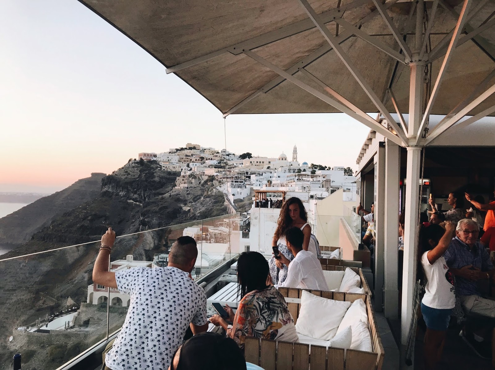 One Night In Santorini By Melissa