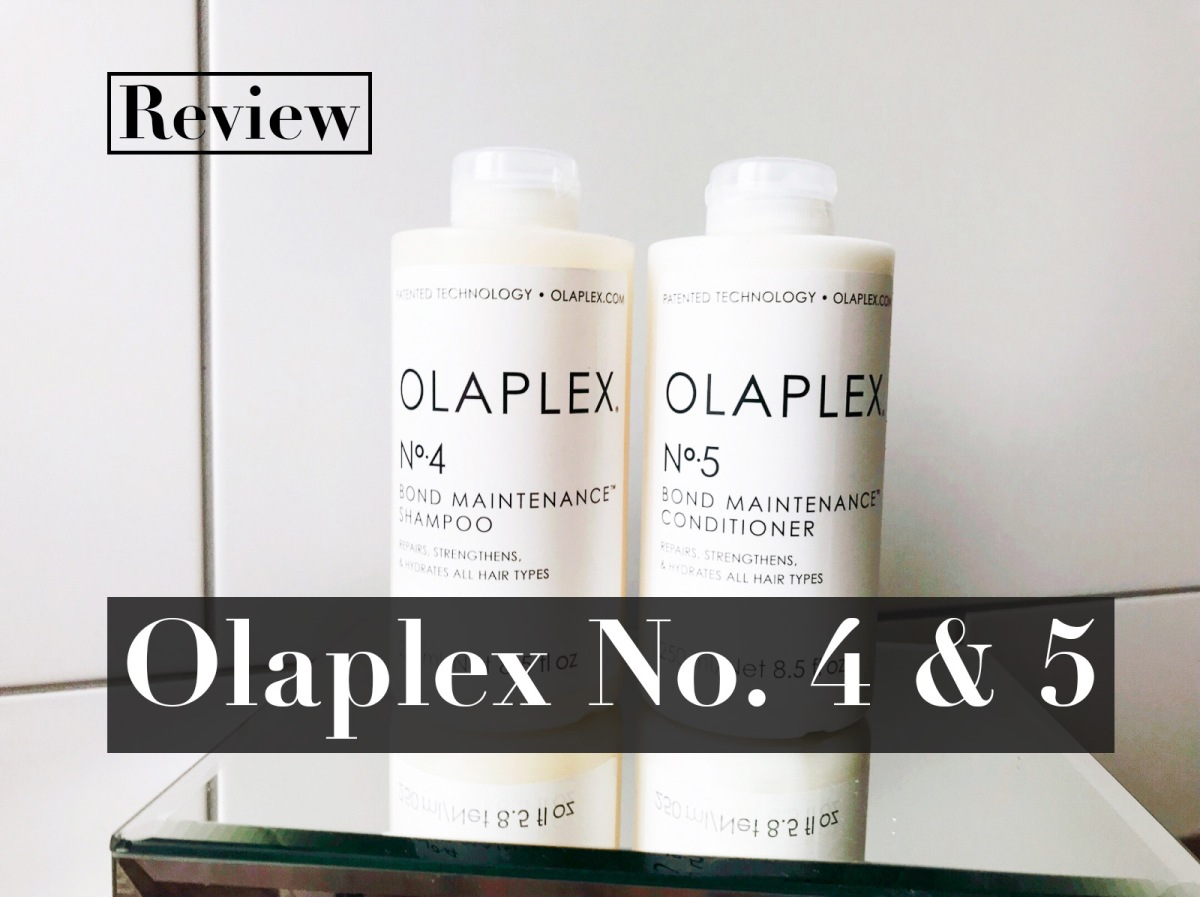 Review: Olaplex No. 4 and 5